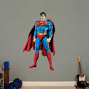 Superman Justice League Fathead Wall Decal